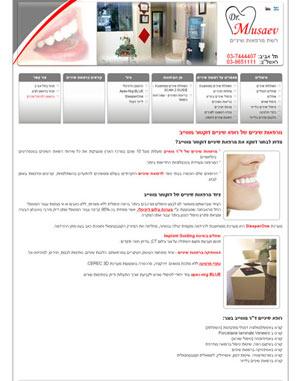 Построение сайта для бизнеса любого формата в Израиле.
